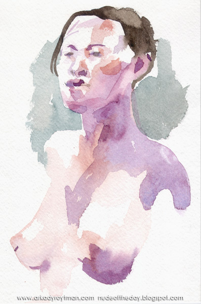 Head And Torso Of A Female Nude, In Semi-Profile