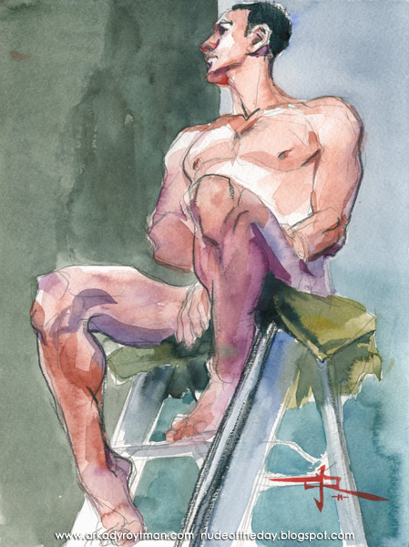 Jonathan, Seated Atop A Ladder