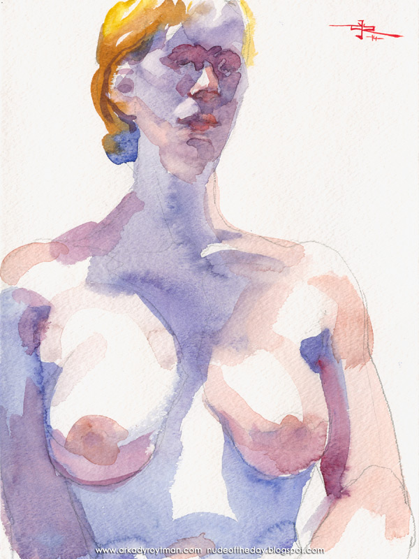 Bust And Torso Portrait Of Sophie