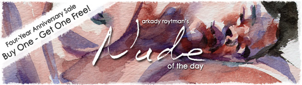 Nude of the Day - 4-Year Anniversary Sale