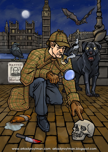 Dover Sherlock Holmes Sticker Activity Book 01