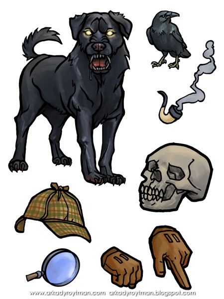 Dover Sherlock Holmes Sticker Activity Book 03