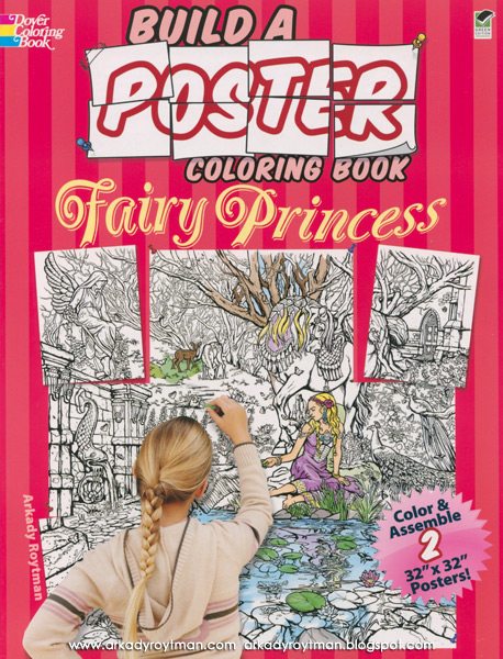 Build A Poster Fairy Princess
