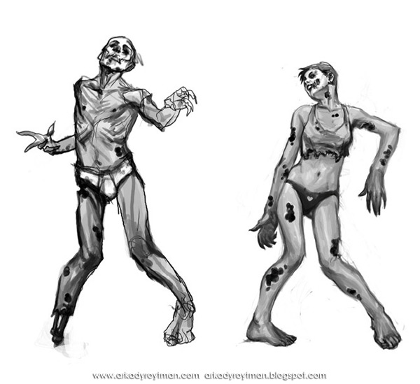 Creatures of the Night Zombies