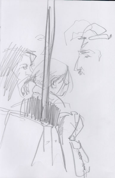 NYC's Subway Sketch Group - (feb. 2006 Subway update)